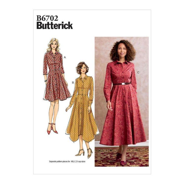 Butterick Pattern B6702 Misses' Dress