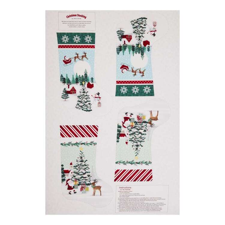 Studio E Peace & Goodwill Stocking Fabric