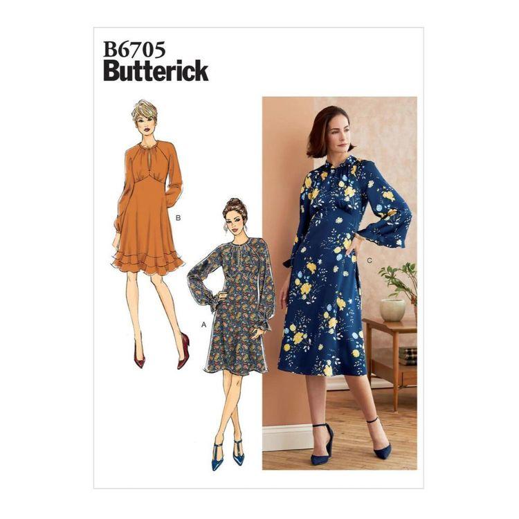 Butterick Pattern B6705 Misses' Dress