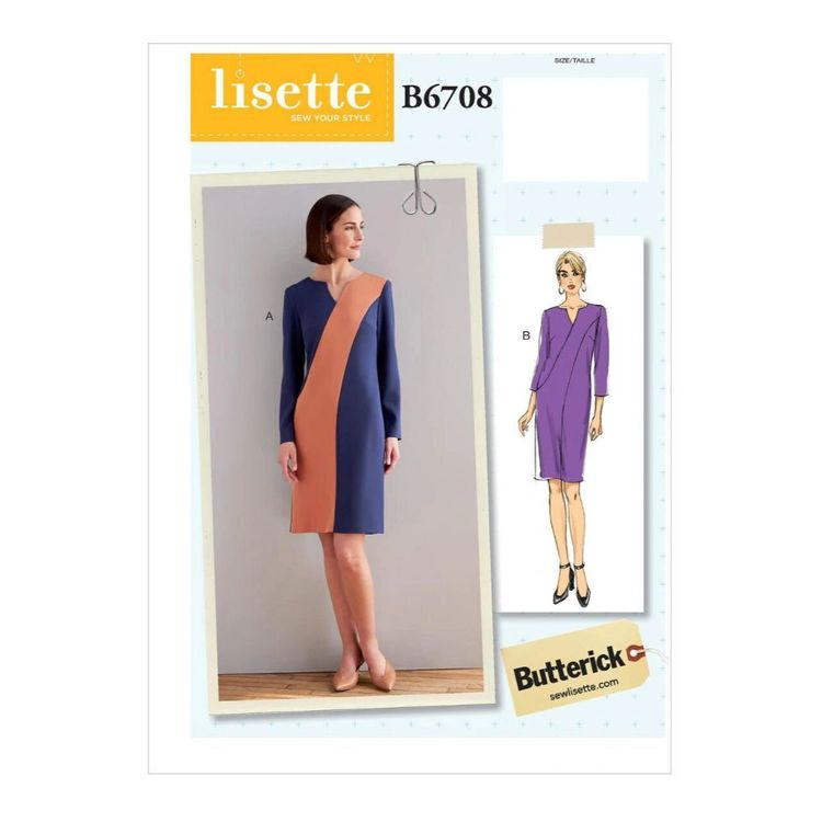 Butterick Pattern B6708 Misses' Dress