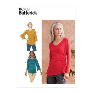 Butterick Pattern B6709 Misses' Top