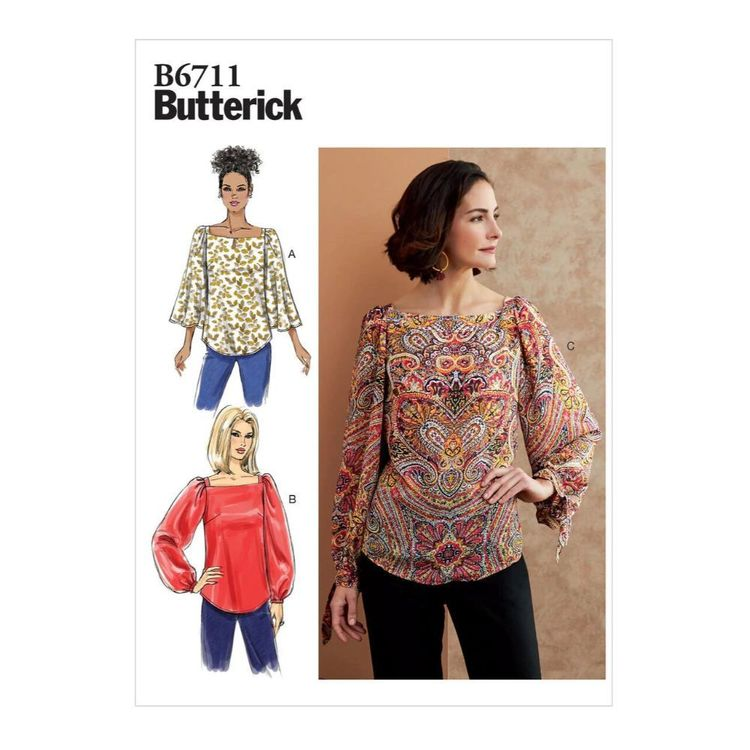 Butterick Pattern B6711 Misses' Top