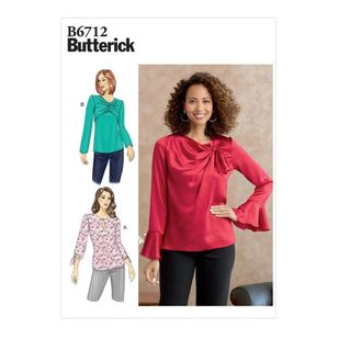 Butterick Pattern B6712 Misses' Top