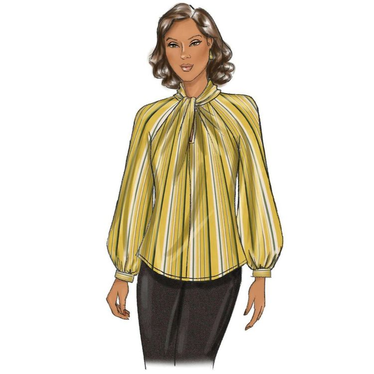 Butterick Pattern B6713 Misses' Top