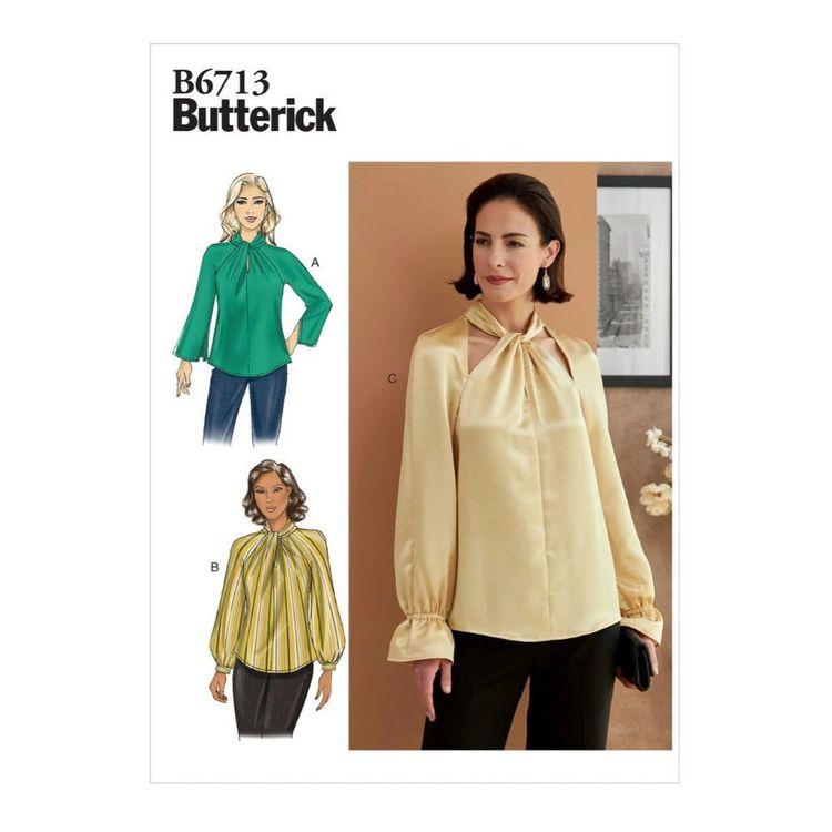 Butterick Pattern B6713 Misses' Top