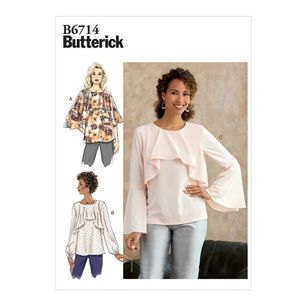 Butterick Pattern B6714 Misses' Top