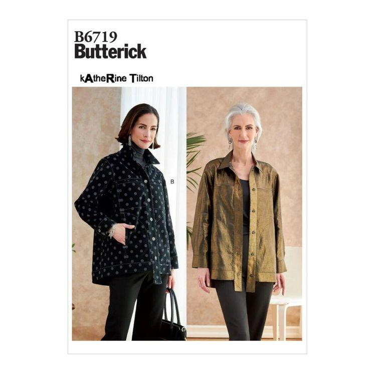 Butterick Pattern B6719 Misses' Jacket