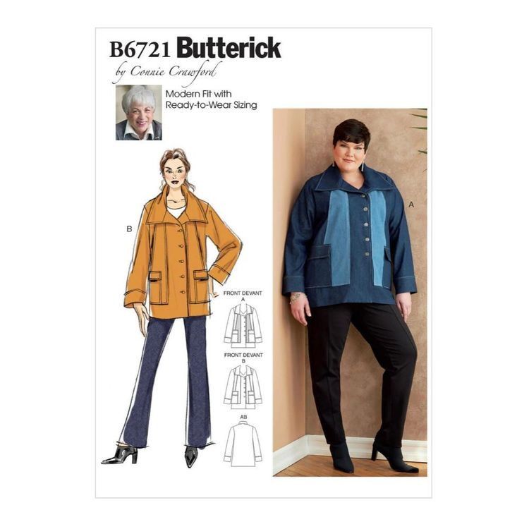 Butterick Pattern B6721 Misses'/Women's Outerwear