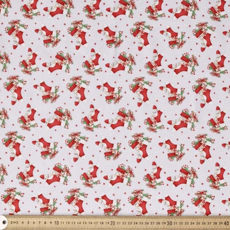 Blank Quilting Magic Stocking Cotton Fabric
