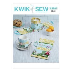 Kwik Sew Pattern 4267 Tea Time Accessories