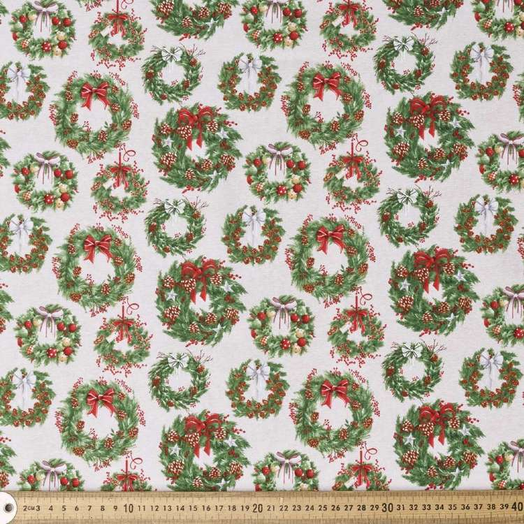 Blank Quilting Magic Wreath Cotton Fabric