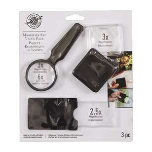 Loops And Threads 3 Piece Magnifier Set