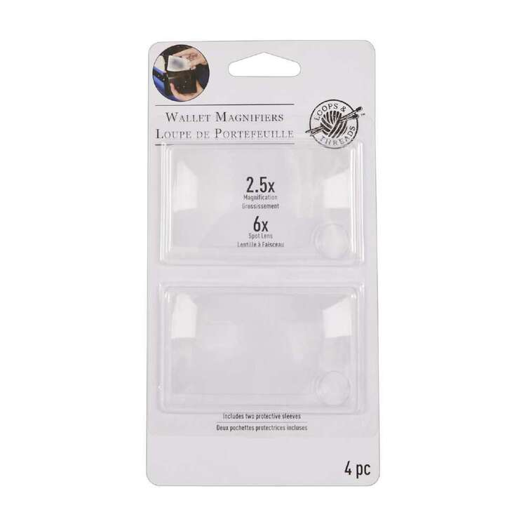 Loops And Threads Magnifier Wallet Dual Pack