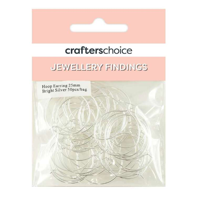 Crafters Choice Hoop Earring 50 Pack