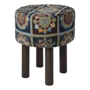Koo Home Boho Tapestry Footstool