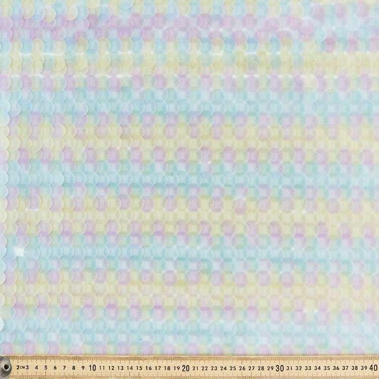 Medium Rainbow Reverse Sequin 132 cm Fabric