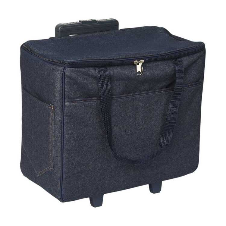 Semco Plain Denim Trolley Bag