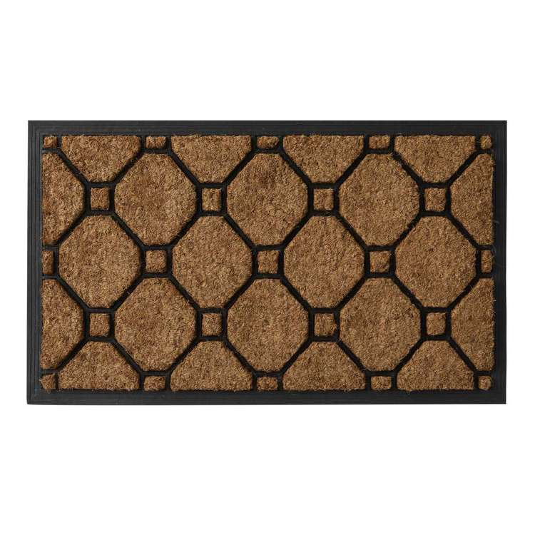Koo Home Pave Coir And Rubber Mat
