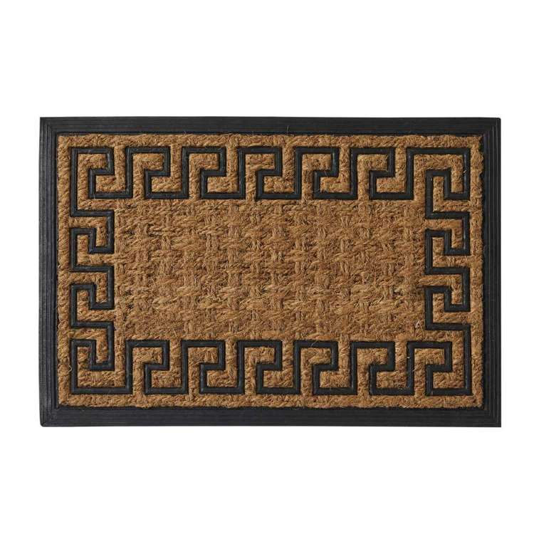 Koo Home Border Panama And Rubber Mat
