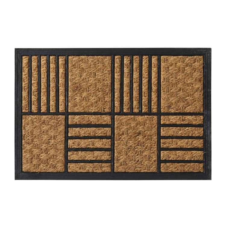 Koo Home Blok Panama And Rubber Mat