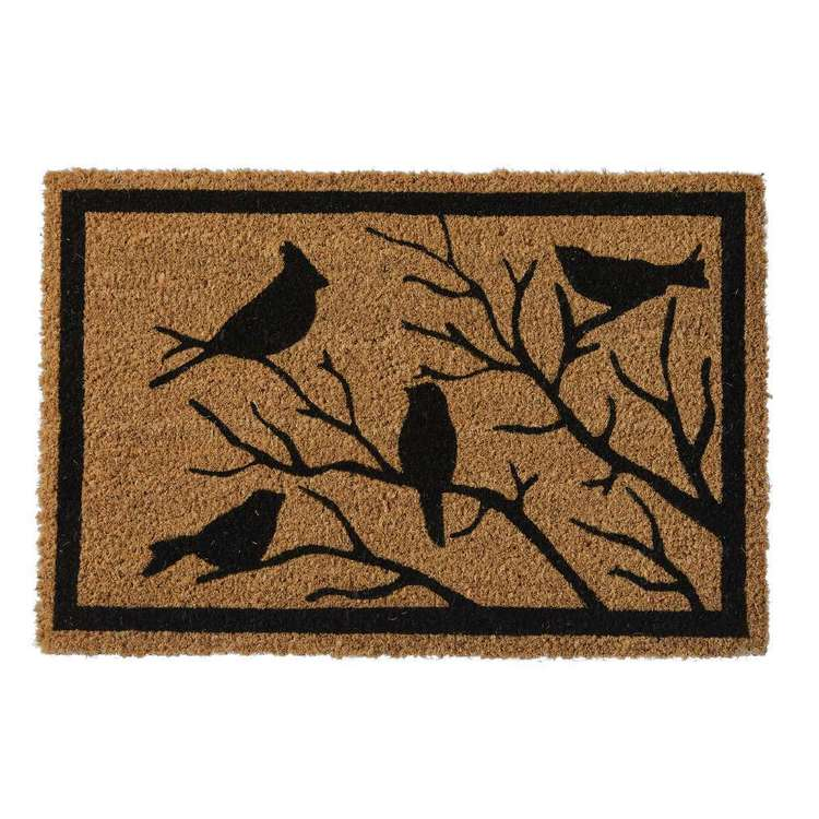 Koo Home Bird Printed PVC Backed Mat