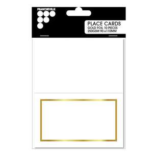 Francheville 250 gsm Placecards 10 Pack