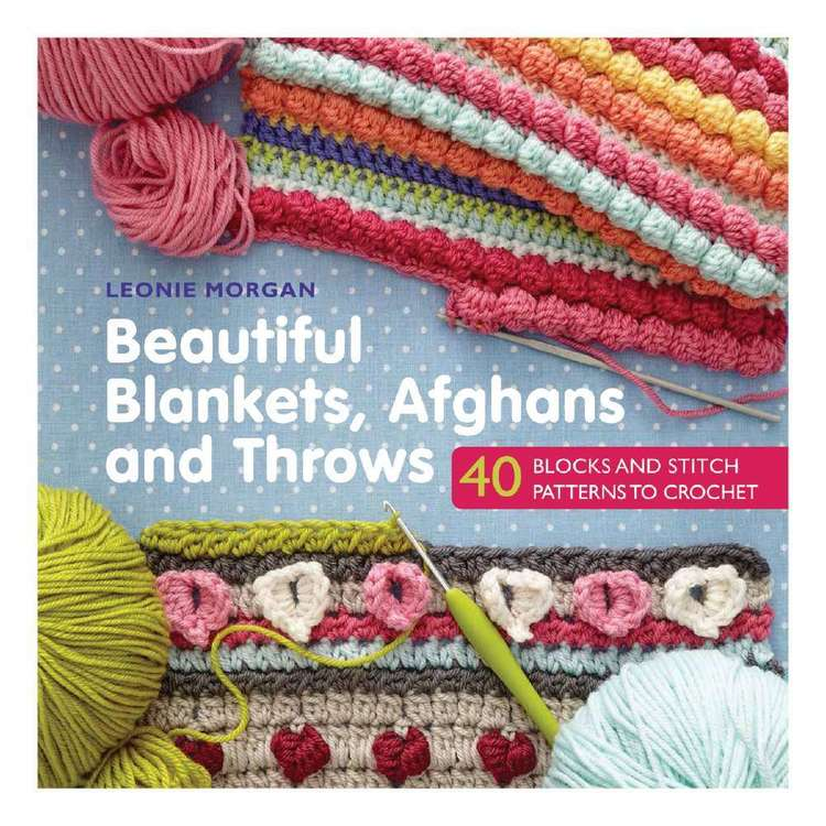 Search Press Beautiful Blankets, Afghans & Throws