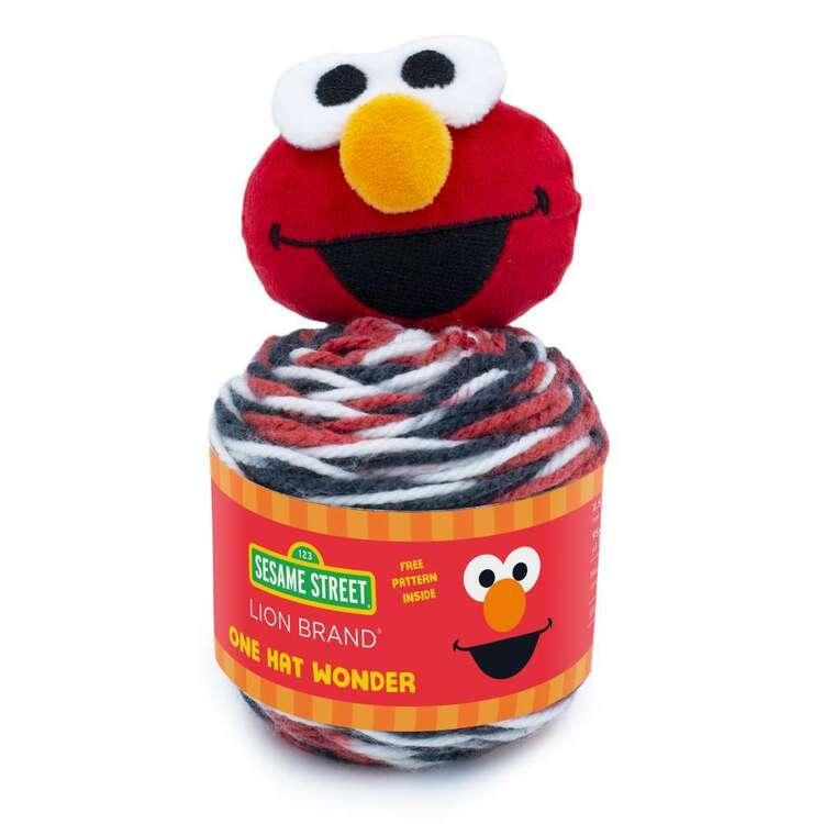 Sesame Street One Hat Wonder Elmo Fashion Yarn Cakes