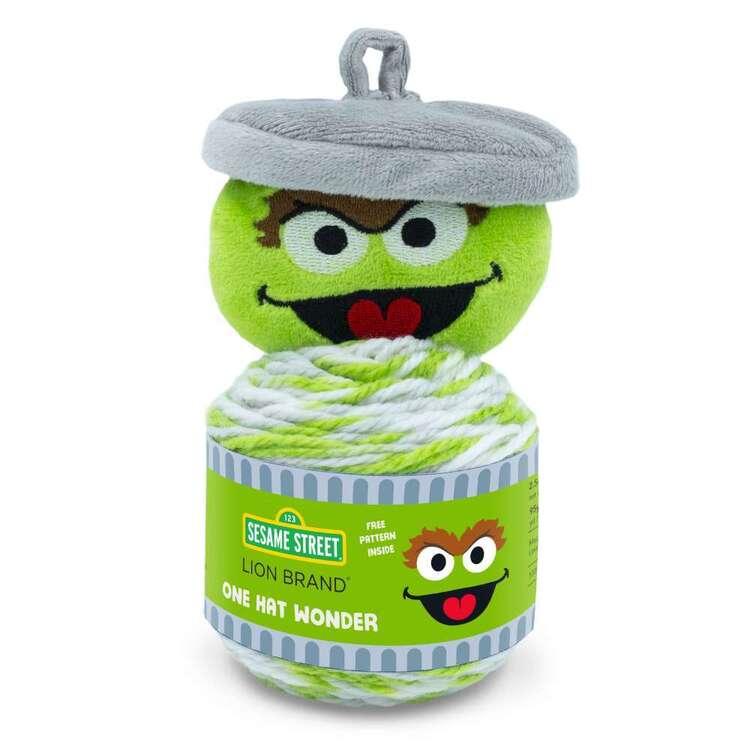 Sesame Street One Hat Wonder Oscar Fashion Yarn Cakes
