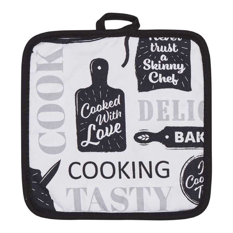 Wam Cooking Printed Pot Holder