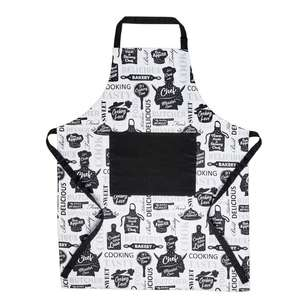 Wam Cooking Printed Apron With Pocket