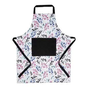 Wam Cranes Printed Apron With Pocket