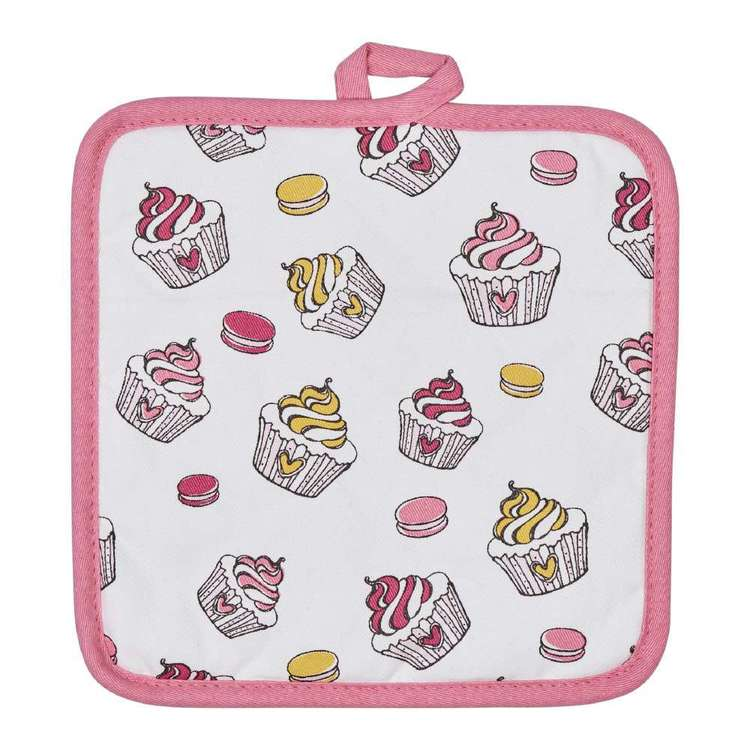 Wam Cupcakes Printed Pot Holder