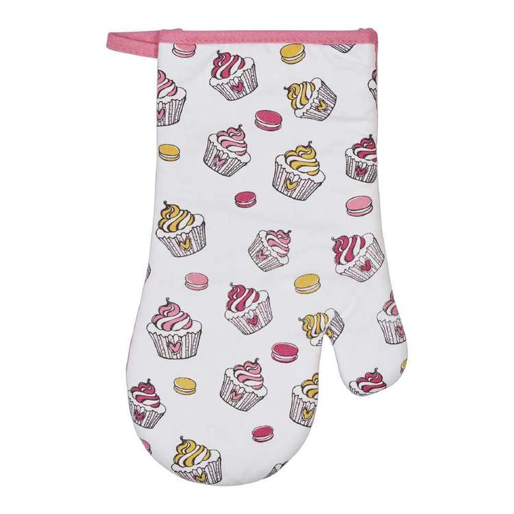 Wam Cupcakes Printed Oven Glove