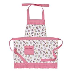 Wam Cupcakes Ruffle Apron With Pocket