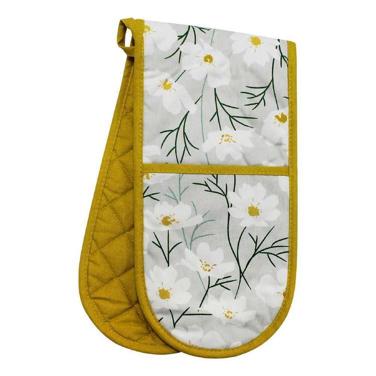 Wam Daisies Printed Double Oven Glove