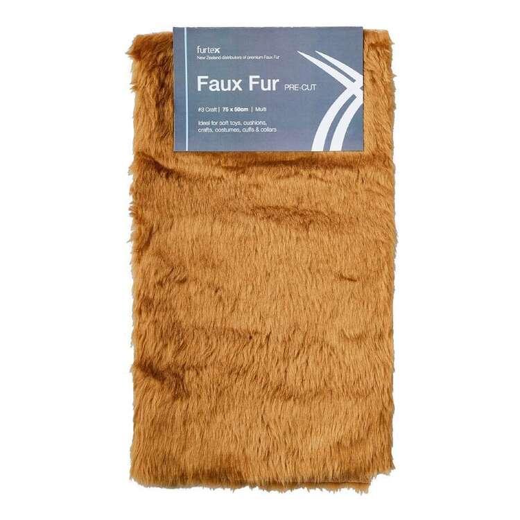 Precut Fur #3 Craft Plain 75 x 50 cm Faux Fur Fabric