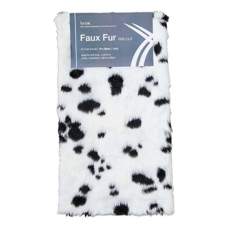 Precut Fur #5 Animal Printed 75 x 50 cm Faux Fur Fabric