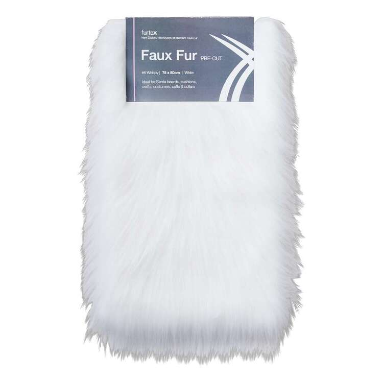 Pre Cut 75 cm x 50 cm Wispy Faux Fur # 6