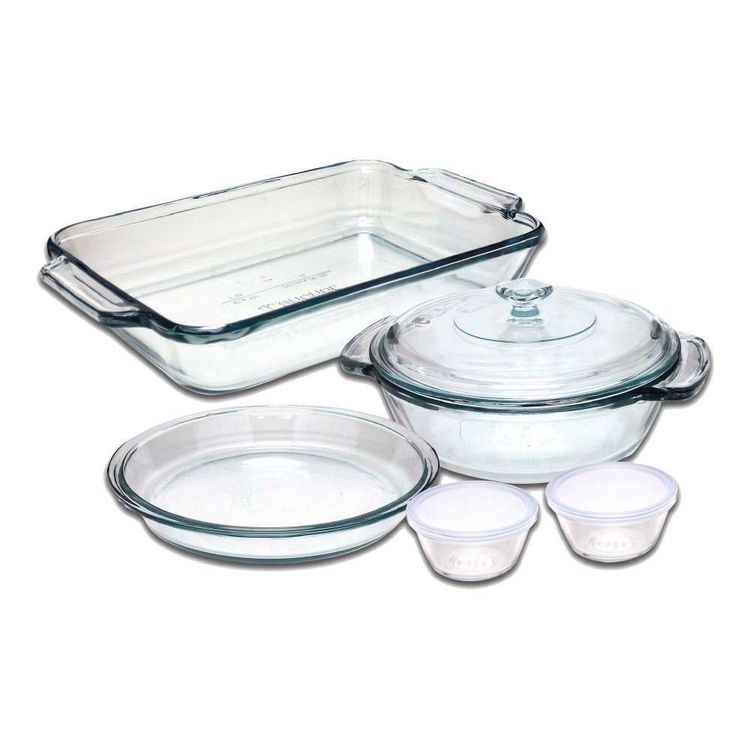 Kitchen Classics Classic Bakeware Set Clear