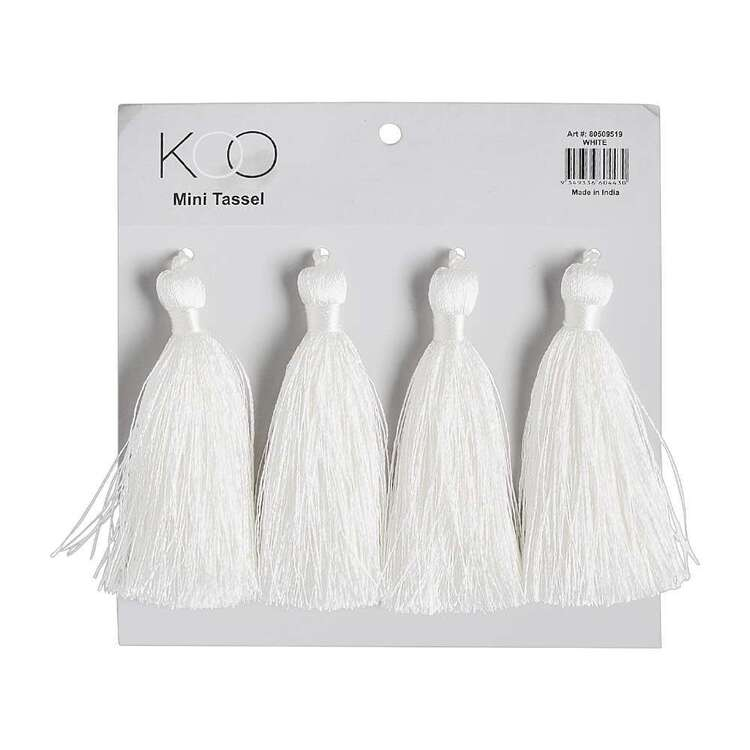 KOO Mini Tassels 4 Pack