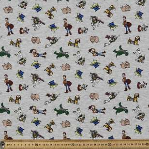 Toy Story Brushed Fleecey Fabric
