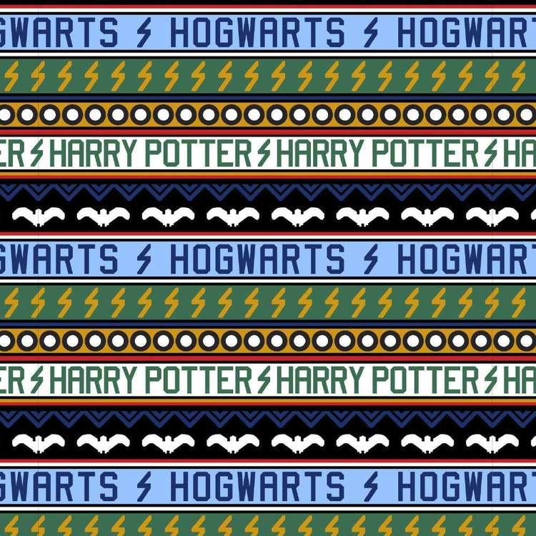 Harry Potter Holiday At Hogwarts Cotton Fabric
