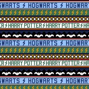 Harry Potter Holiday At Hogwarts Cotton Fabric