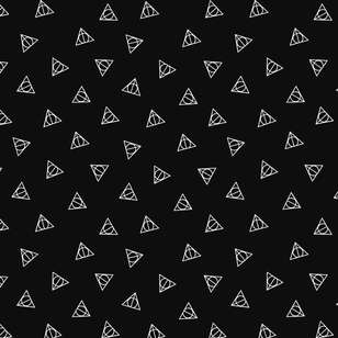 Harry Potter Deathly Hallows Cotton Spandex Fabric