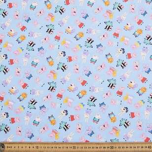 Peppa Pig Minis Cotton Fabric