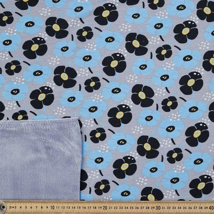 Retro Printed 150 cm Alpine Fleecy Fleece Fabric