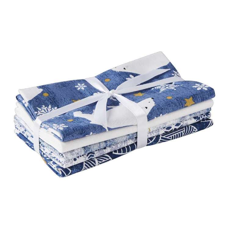 Polar Christmas 5 Piece Flat Fat Bundle