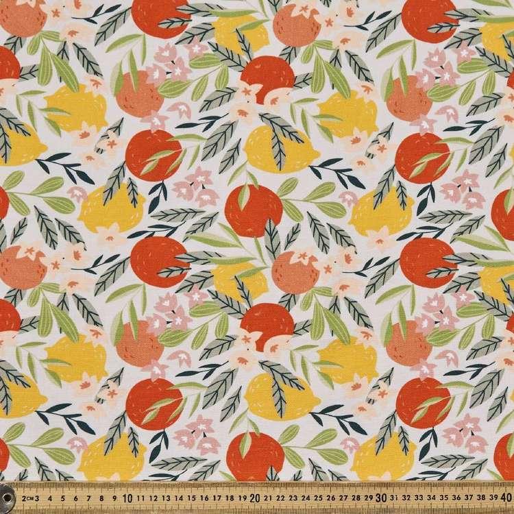 Fruity Digital Printed 112 cm Cotton Duck Fabric