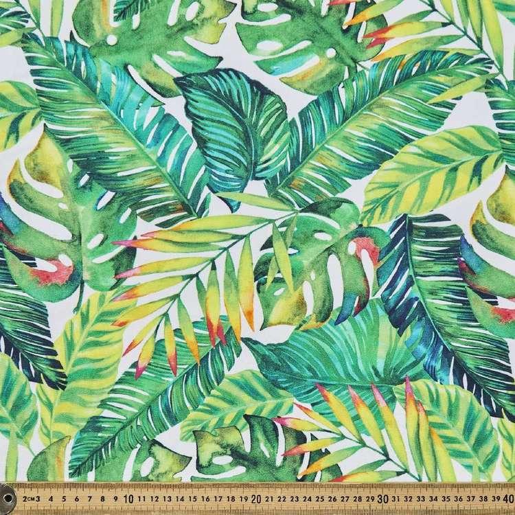 Tropical Digital Printed 112 cm Cotton Duck Fabric